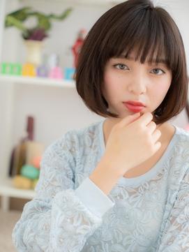【macaron】大人可愛い☆ナチュラルボブ