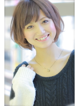 【Rire-リル銀座-】くせ毛風☆エレガントショートボブ .54