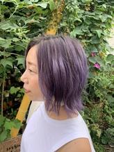ラベンダーグラデーション【ビードロ 下北沢駅】.36