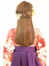 【hair coucou】袴レンタル+着付+ヘアセット 卒業式パック 七五三.35