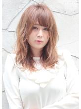春ヘアはミディアムレイヤー・・・ 前髪パーマ.52
