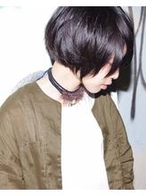 【micca下北沢】 ☆ 黒髪×ショートボブ×チョーカー☆ .8