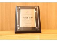 全国TOPクラス♪ホットペッパービューティーから表彰されました