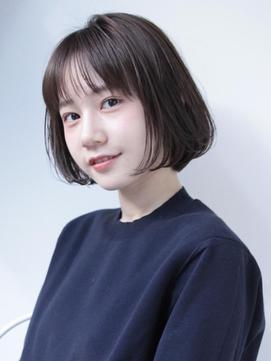 [中村 マサアキ]シアーベージュのボブ☆