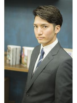 【heel】上杉秀明  ちょうど良いかき上げビジネススタイル