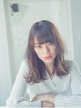ワイドバングとウェーブセミディ【小岩】.19