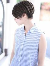 25歳からの美容院【エアリーショート・グレージュ】n.10
