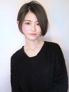 【morio池袋】2018年秋冬流行る髪型大人可愛い前下がりショート