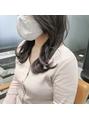 韓国人風レイヤーカット × 透明感カラー 《 北野莉亜 》
