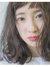 クリーミーグレージュ×ロブ by 井上瑛絵 .15