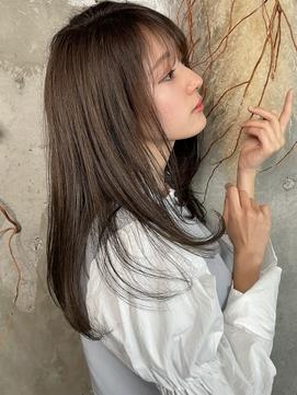 髪質改善艶ストレート