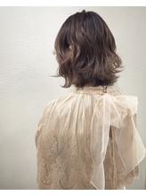 【WAEN 横浜 岩間貴寛】グレージュモカボブ.28