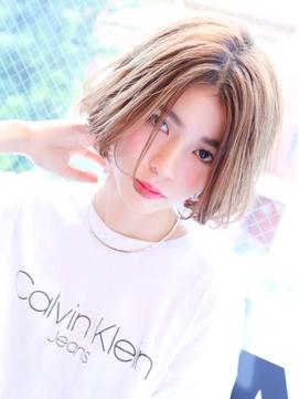 【FLAVA河井】アンニュイ×ほつれセンターパート