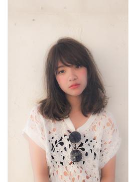 紗栄子風大人かわいいふわミディ