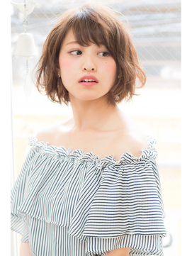 【hair coucou】人気のエアリーなショートボブ