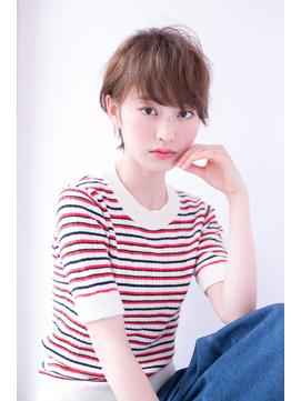shiomi H フレンチショート【モーブカラー】