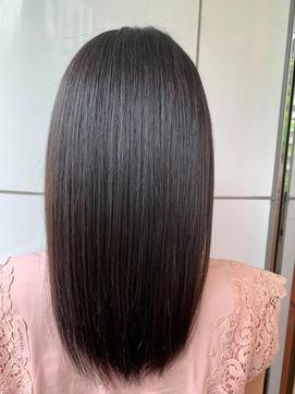 髪質改善トリートメント サイエンスアクア 黒髪 ローライト