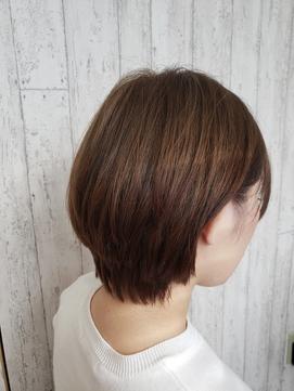 美髪モーヴアッシュ