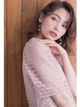 切りっぱなし大人ラフミディ☆【hair salon lico】03-5579-9825.50