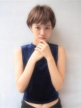 <Nove>お洒落な耳掛けマッシュショート 男性.59
