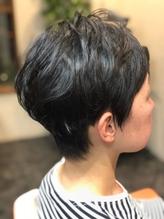 黒髪さんもふんわり☆スッキリショート.23