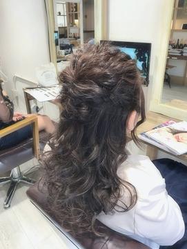 """【Feria】☆こなれハーフアップ☆ """"石田幸輔"""""""