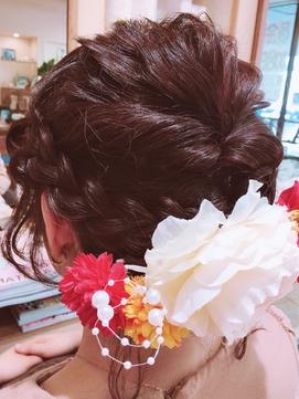 袴ヘアセット[日野/日野駅/豊田/八王子/立川]