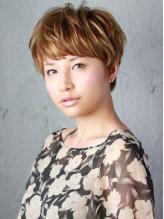 技術で差の出るショートヘアも繊細なカットで綺麗なシルエットを創ります。黄金バランスで理想のあなたに♪