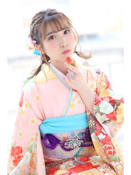 【KAINO着付】振袖成人式 キュート