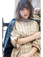 Wyrm 7階 えりな 春髪*  フェミニンボブ × ベージュカラー.18