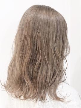 * ダブルカラー ミルクティーカラー モテ髪 おフェロ