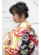 【Bormee】お着物にも◎ルーズヘアスタイル☆.10