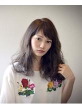 【GiseL】パールシルバー☆ワンサイド ボサボサ.25