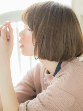 【シエル松戸】個性的インナーカラーの小顔前下がりボブa
