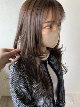 【KOBA】ロングウルフ ベージュ