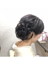 【洋装・和装向き】アップスタイル.4