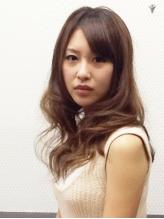 【コスメデジタルパーマ+カット+超音波3Dイオン+美髮trケア¥36000→¥9000】ゆるふわカールをGETできる♪