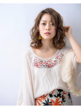 【Bonheur西梅田】ボリューミーカールミディ/Stylist玉井友香