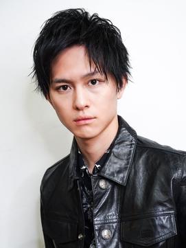 【SENSE original】ハーフアップバング 黒髪ショート