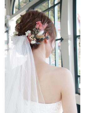 花嫁ヘアーセット