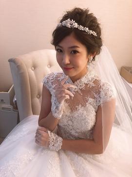 ルーズ 結婚式 二次会 ブライダル パーティ ヘアアレンジ