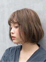 [MAKE'S 前田]抜け感・シンプルボブ.37