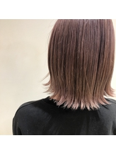 艶髪ピンクグレージュ.43