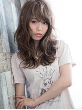 バレイヤ-ジュカラー×無造作フェザ-☆めりはり美ラインウェ-ブ.45