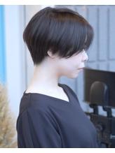 [valleychairひばりヶ丘]横顔美人な黒髪ベリーショート☆.18