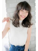 【canon】簡単アレンジ☆無造作ウェーブセミディ 就活.58