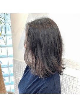 ローレイヤーのヘアセット簡単スタイル