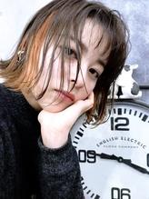 【LOARK】イエローオレンジインナーカラーとグレージュカラー☆.50