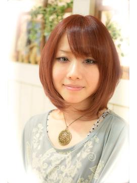 【miel hair blanc】☆ひし形ニュアンスボブ☆