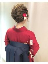 【下北沢*I'll b hair*】ショートヘアの編み込みカチューシャ.3